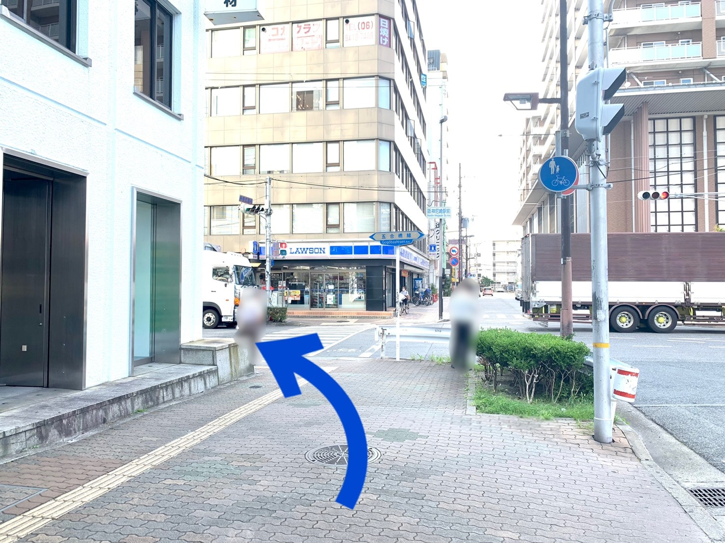 店舗までの道のり4