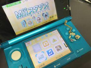 3DSのLRケーブルの交換です(`・ω・´)ゞ