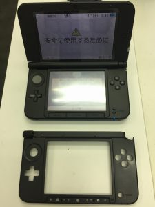 3DS LLのハウジング交換