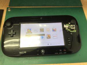 WiiU ゲームパッド スティック修理