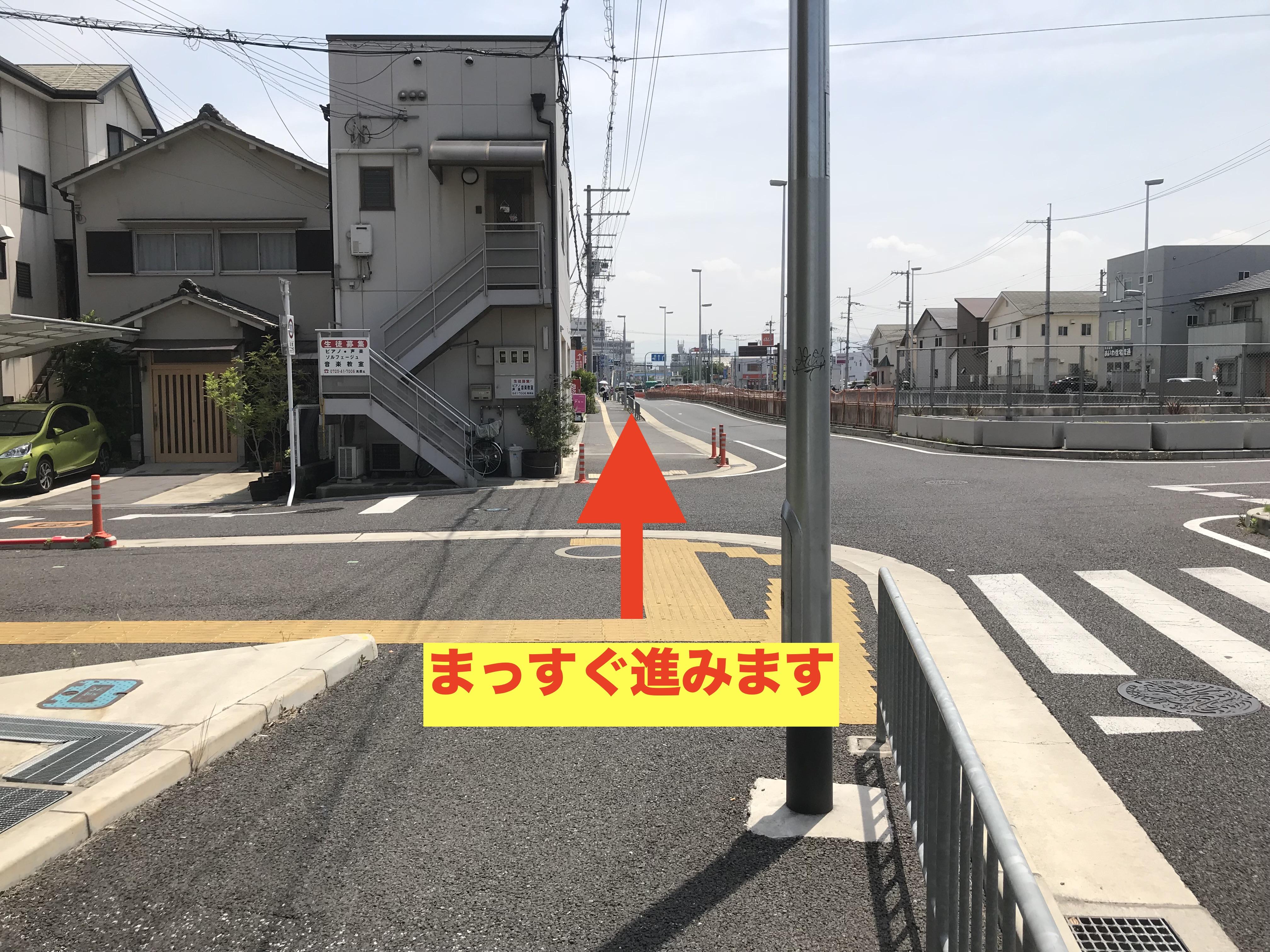 店舗までの道のり3