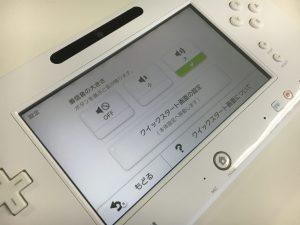 WiiUのゲームパッド液晶交換後