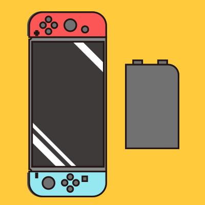 Switch バッテリー交換修理