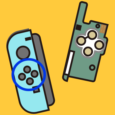 SwitchJoy-Con ボタン修理