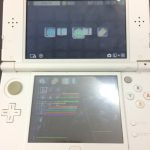 熊本 New3DSLL 下液晶画面交換