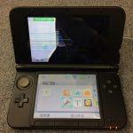 液晶漏れ 3DS LL before スマホスピタル鹿児島店