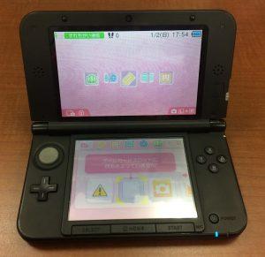 液晶漏れ 3DS LL after スマホスピタル鹿児島店