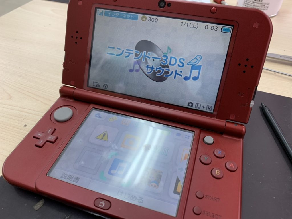 New 3DS LL 液晶 修理