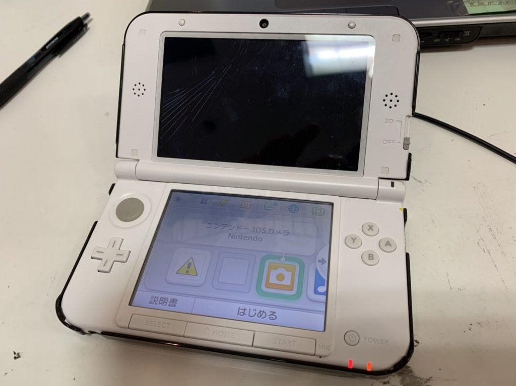 3DS LL 画面 交換