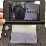 液晶漏れ 3DSLL before スマホスピタル鹿児島店