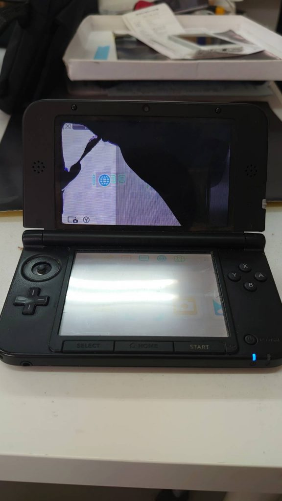 NEW 3DS 画面 修理