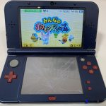 任天堂 3DS LL 下画面 故障 修理前