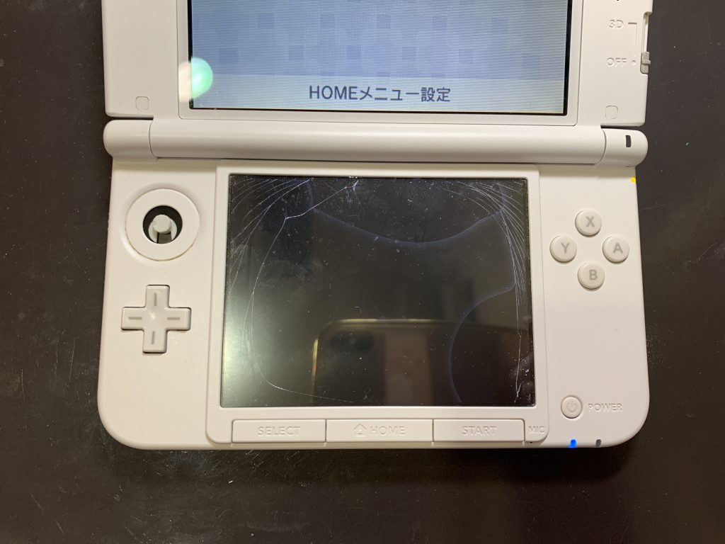 3DSLL 下液晶画面交換 (1)