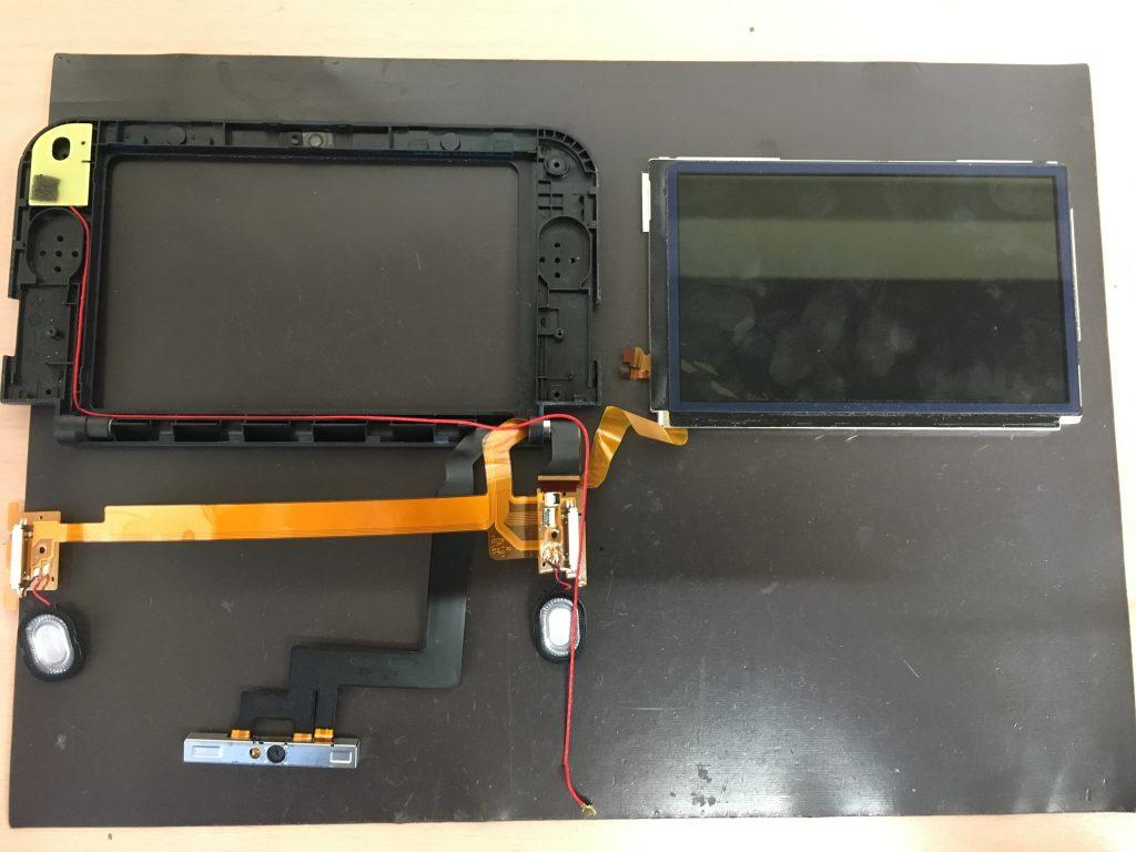 New3DSLL 上画面 液晶パネル 分解