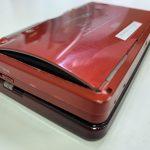 3DSのバッテリー膨張で裏蓋が浮く