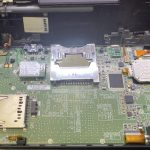 Nintendo 3DSLL LRボタン修理
