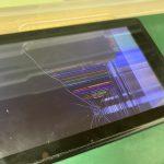 Nintendo Switch 液晶画面割れ 液晶パネル交換修理