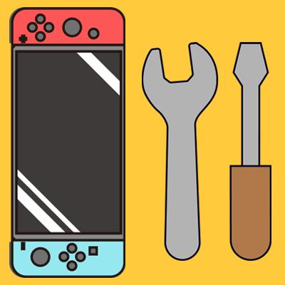 Switch メンテナンス 3DS・Switch・PSPの修理、買い取りならゲームホスピタルへ!