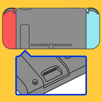 Switch SDカードスロット交換