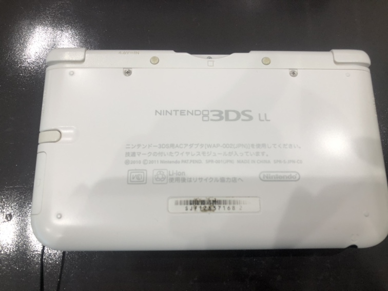 3DSLL背面
