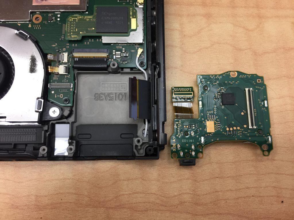 Switch ソフトトレー基板交換修理 ソフト読み込みエラー